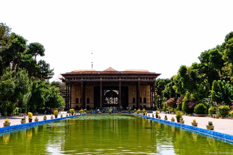 Les jardins du Palais Chehel Sotoun
