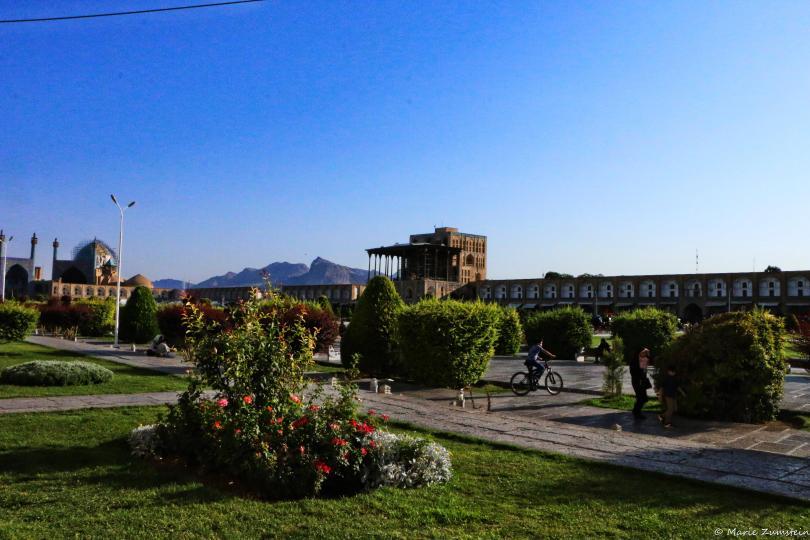 La place de l'Imman, Ispahan