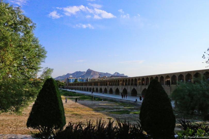Les ponts d'ispahan